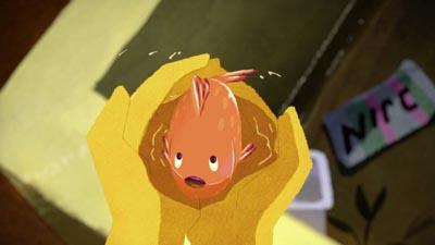 Chemin d'eau pour un poisson, un court métrage sélectionné par la Normandie et le Monde en 2017