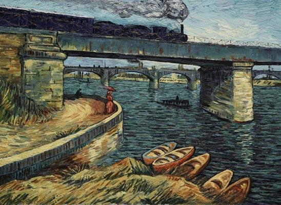 La passion Van Gogh, sélectionné par le festival de cinéma de Vernon