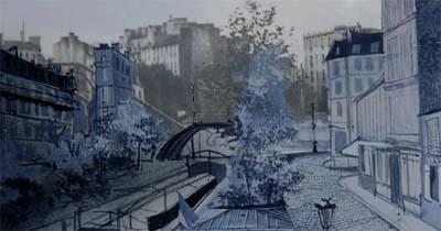 Les ciels d'Alexandre Trauner, un documentaire de Vincent Dumesnil produit par les FIlms d'Ici, sélectionné par La Normandie et le Monde de l'Art