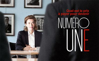 Numéro Une, un film de Tonie Marshall, en avant première à Vernon en ouverture du festival le 6 octobre 2017